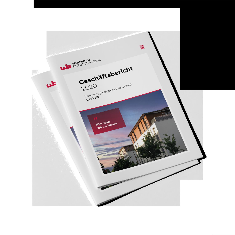 Wohnbau Bergstrasse Geschäftsbericht 2020